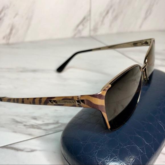 996ef566bc0 Jimmy Choo Accessories - AUTHENTIC Jimmy Choo 57 FY9 135 Tiger Eyeglasses